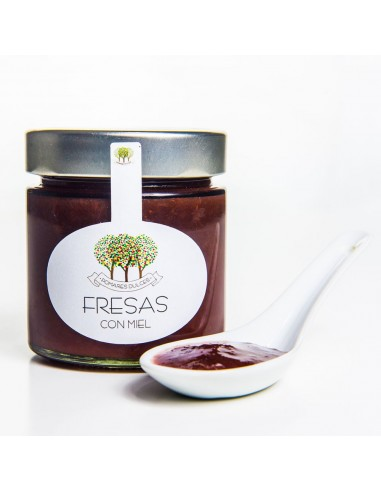 Mermelada Extra de Fresas con Miel