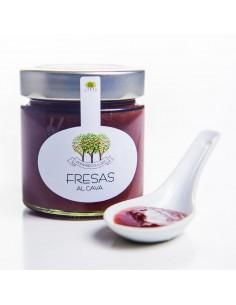 Mermelada de Fresas al Cava
